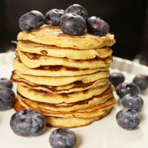 3-Zutaten Pancake  - Koch-Rezepte Elke Eisner Steinzeitköchin Paleo