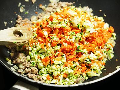GemüseFleischPfanne