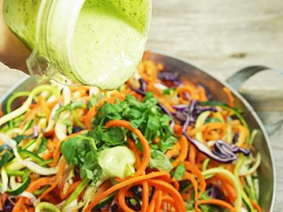 Salat zubereitungsauce