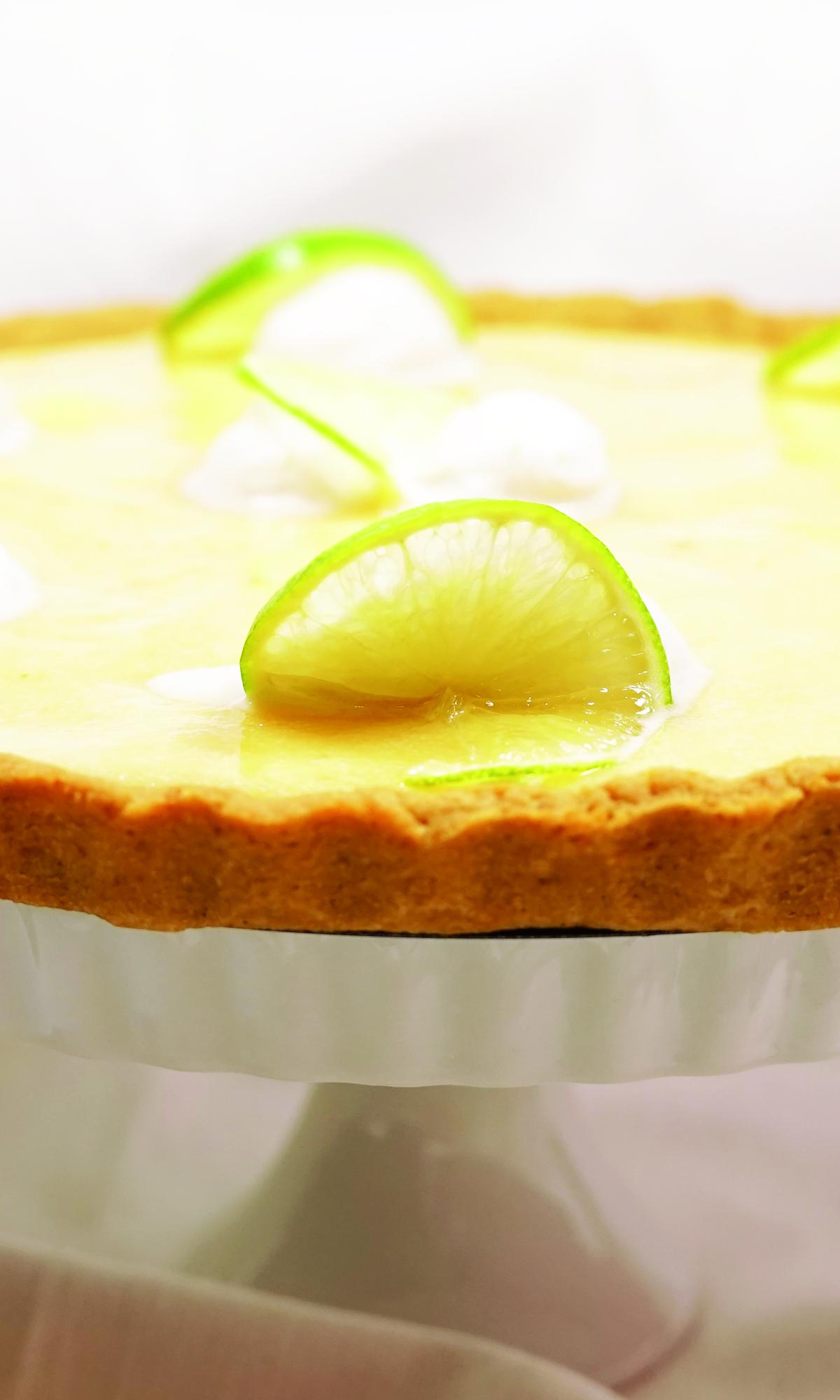 PALEO- Key-Lime Pie mehlfrei,, Paleo, zuckerfrei, laktosefrei und wunderbar fruchtig