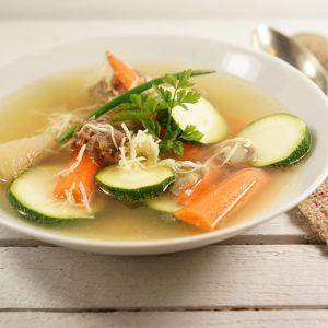 Rinderknochen-Suppe  - Koch-Rezepte Elke Eisner Steinzeitköchin Paleo