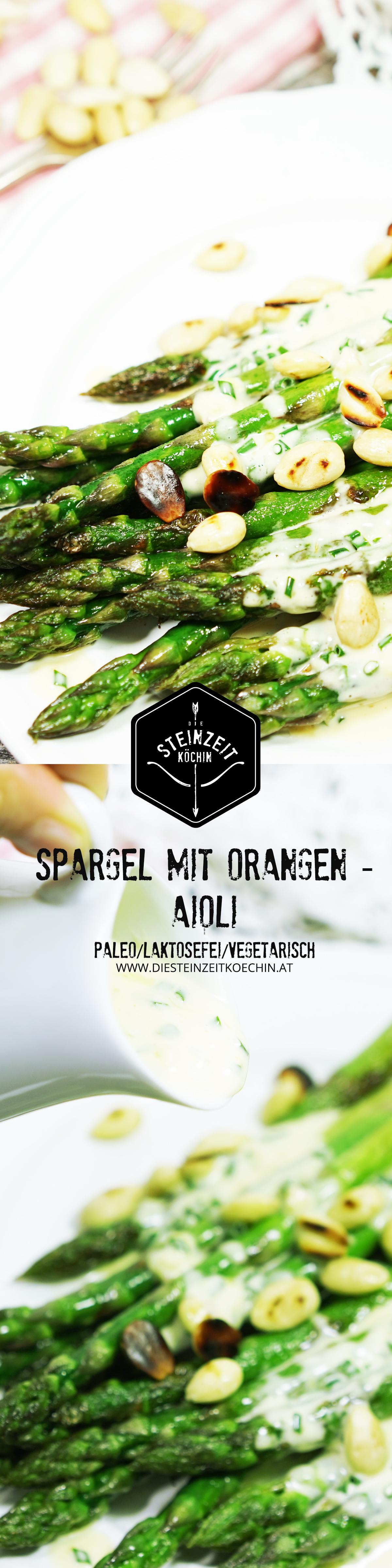 Spargel-mit-Orangen-Aioli- grüner Spargel, one Milchprodukte, ohne Getreide, laktosefrei, paleo, frisch zubereitet, ohne konservierungsmittel, gesunde Beilage, passt hervorragend zu Gegrilltem nur wenige Zutaten, schnell zubereitet, einfaches Rezept, gesunde Ernährung