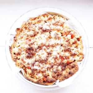 Marillen-Streuselkuchen ohne Mehl  - Koch-Rezepte Elke Eisner Steinzeitköchin Paleo