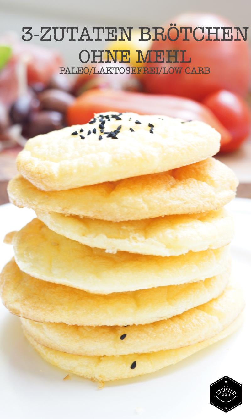 Brot ohne Mehl, 3 zutaten brot, 3 zutaten brötchen, ohne mehl, schnell zubereitet, ohne kohlenhydrate, ideal zum Abnehmen, ein schnelles Frühstück, gesund und getreidefrei, laktosefrei, ohne Zucker, in wenigen Minuten zubereitet, mit nur 3 Zutaten.